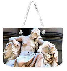 U S Custom House 3 Weekender Tote Bag by Randall Weidner
