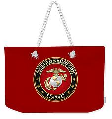U. S. Marine Corps - U S M C Emblem Special Edition Weekender Tote Bag