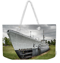 Weekender Tote Bag featuring the photograph U. S. S. Batfish by James Barber