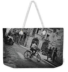 U Turn Weekender Tote Bag