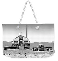 Weekender Tote Bag featuring the photograph U - We Wash - Death Valley by Mike McGlothlen