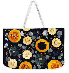 Squash Patterns Weekender Tote Bag