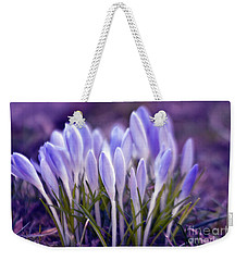 Ultra Violet Sound Weekender Tote Bag