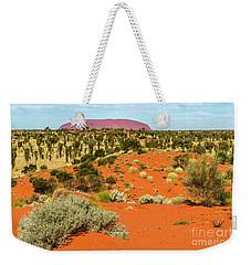 Weekender Tote Bag featuring the photograph Uluru 01 by Werner Padarin