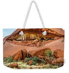 Weekender Tote Bag featuring the photograph Uluru 06 by Werner Padarin