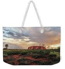 Uluru In The Distance Weekender Tote Bag