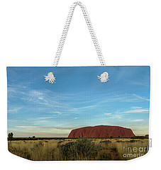 Weekender Tote Bag featuring the photograph Uluru Sunset 02 by Werner Padarin