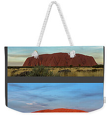Uluru Sunset Weekender Tote Bag