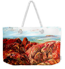 Uluru Viewed From Kata Tjuta Weekender Tote Bag