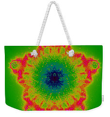 Weekender Tote Bag featuring the digital art Umakendent by Andrew Kotlinski