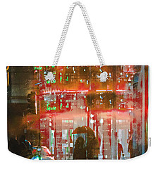 Umbrellas Are For Sharing Weekender Tote Bag