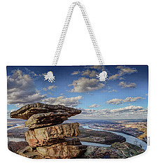 Umbrella Rock Overlooking Moccasin Bend Weekender Tote Bag