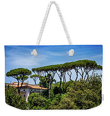 Umbrella Trees In Rome Weekender Tote Bag