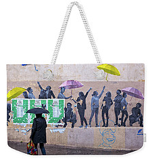 Umbrellas In Paris Weekender Tote Bag