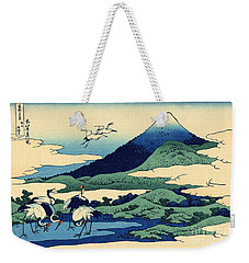 Umegawa In Sagami Province, One Of Thirty Six Views Of Mount Fuji Weekender Tote Bag