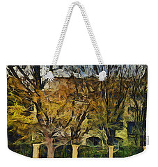 Un Cheteau Dans Le Paradis - Two Of Two  Weekender Tote Bag by Sir Josef - Social Critic -  Maha Art
