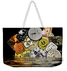 Unable To Save Time Weekender Tote Bag