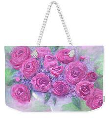 Armchair Rose Garden Weekender Tote Bag