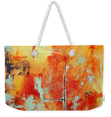 Uncharted Destination Weekender Tote Bag by M Diane Bonaparte