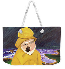 Weekender Tote Bag featuring the painting Uncle Bunk by Thomas Blood