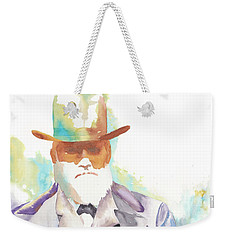 Uncle David Nation, Circa 1900 Weekender Tote Bag by Tara Moorman