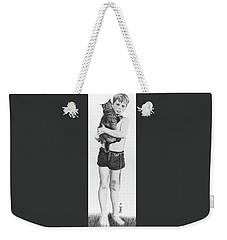 Uncle George Weekender Tote Bag by Ferrel Cordle