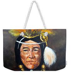 Uncle Joe Weekender Tote Bag by Lee Piper