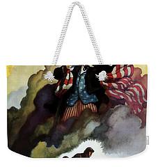 Uncle Sam - Buy War Bonds Weekender Tote Bag by War Is Hell Store