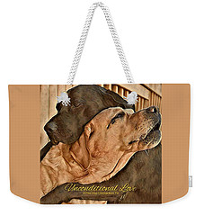 Unconditional Love Weekender Tote Bag