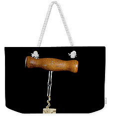 Weekender Tote Bag featuring the photograph Uncorking  by Kennerth and Birgitta Kullman
