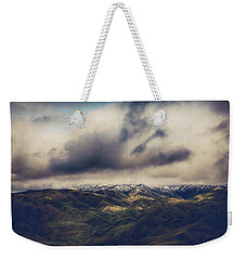 Weekender Tote Bag featuring the photograph Undeniable by Laurie Search