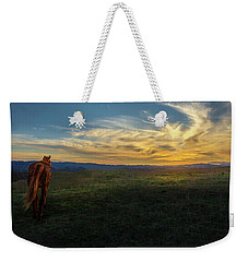 Under A Bright Evening Sky Weekender Tote Bag