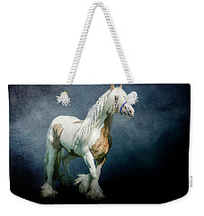 Weekender Tote Bag featuring the photograph Under A Gypsy Moon by Brian Tarr
