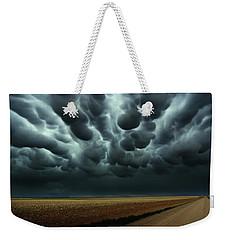 Under A Mammatus Sky Weekender Tote Bag