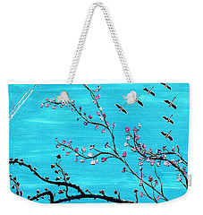 Under A Tree Weekender Tote Bag
