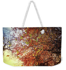 Under An Autumn Sky - No.2 Weekender Tote Bag