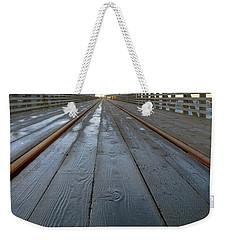 Under Astoria Megler Bridge On Riverwalk Weekender Tote Bag