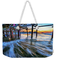 Under Cherry Grove Pier 2 Weekender Tote Bag