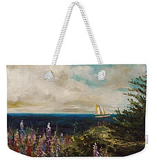 Under Full Sail Weekender Tote Bag