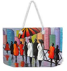 Under My Umbrella Weekender Tote Bag