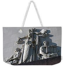 Under Scales Of Justice Weekender Tote Bag