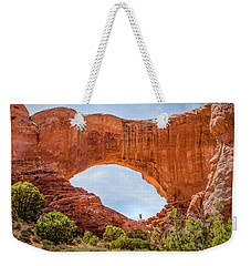 Under The Arch Weekender Tote Bag