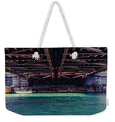 Under The Bridge Too Weekender Tote Bag