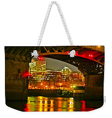 Under The Burnside Weekender Tote Bag