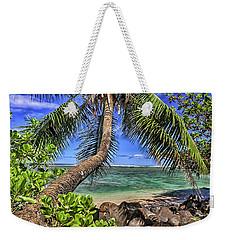 Under The Coconut Tree Weekender Tote Bag