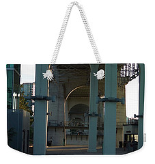 Under The Concrete Walk Weekender Tote Bag by Nick Kirby