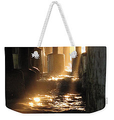 Under The Daytona Beach Pier 004  Weekender Tote Bag