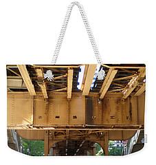 Under The El - 1 Weekender Tote Bag by Ely Arsha