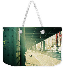 Under The Elevated Railway Weekender Tote Bag