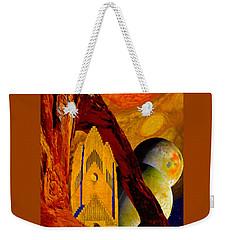 Under The Giants Eye Weekender Tote Bag